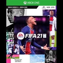 FIFA 21 CHAMPIONS EDITI XBOX ONE SERIES X S  LIFETIME🟢