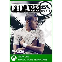 COINS FIFA 22 UT XBOX ONE - DISCOUNTS up to 10%