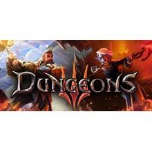 Dungeons 3 ( III ) Steam key RU+CIS