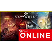 🔥 New World - STEAM ONLINE (Region Free) + $BONUS