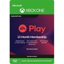 EA PLAY (EA ACCESS) 12 MONTHS (XBOX ONE / GLOBAL KEY)