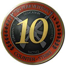 Dota 2 ID 6 digit + First email +10 year veteran CS GO