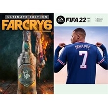 Far Cry 6 Ultimate+FIFA 22 Ultimate Xbox One,Series XIS