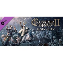 Crusader Kings II: Holy Fury DLC STEAM KEY RU+CIS