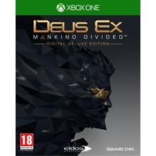 🎮Deus Ex: Mankind Divided - Digital Deluxe XBOX 🔑 Key