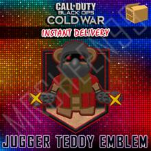 ✅ Call of Duty: Black Ops Cold War Jugger-Teddy Emblem