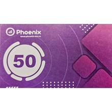 PHOENIX payment card 50 rubles