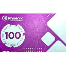 PHOENIX payment card 100 rubles