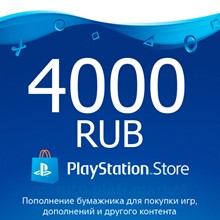 ✅ PSN recharge code 4000 rubles PlayStation Network RU