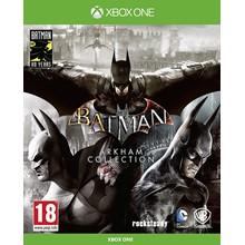 BATMAN: ARKHAM COLLECTION XBOX ONE & SERIES X|S 🔑KEY
