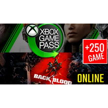🎁 Back 4 Blood ONLINE + XBOX GAME PASS (GLOBAL)+250