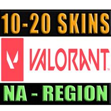 VALORANT   5 - 20 SKINS   NA - REGION ✅ WARRANTY 🔥