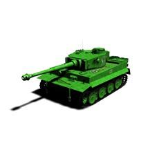 "3D model of the tank PZ6 ""TIGER"""