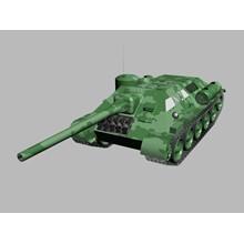 3D-model of self-propelled artillery SU-85