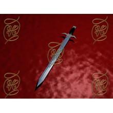 Sword on a red velvet