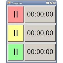 Three-position timer