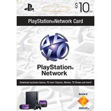 PLAYSTATION NETWORK (PSN) - $10 (USA) 🎮 DISCOUNTS