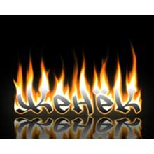 Image burning name Zhenyok Desktop 1280x1024