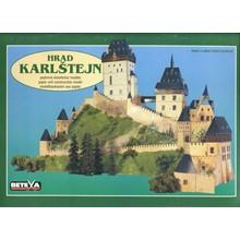 Karlstejn Castle (Castle Karlstein) - Model for assembl