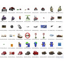 1000 professional animated images. Transport