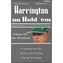 Harrington On Hold'em (Volume 3; The Workbook) - Poker