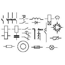 Bibleotek AutoCad element (E circuits).