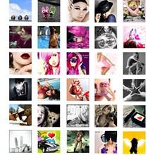 1000 unique avatars 150x150. Many animated.