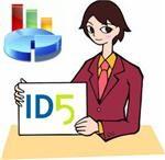 Payment card advertising ID5.ru 1000 rubles + 5 Bonuses