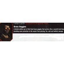 Fallen Earth Exclusive bonus - Brass Googles