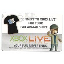 XBOX LIVE USA / EU - PAX Avatar (US only!) Male
