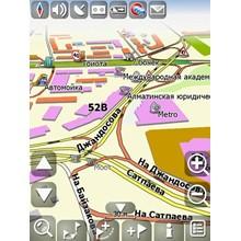 GPS Maps and Almaty region of Vladimir