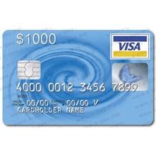 1000$ VISA VIRTUAL + statement, ONLINE 3DS. PRICE