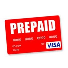 500 $ VISA virtual / prepaid for calculations on the In