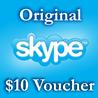 10$ Ваучер пополнения 10USD Активация на Skype.com
