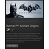 Batman: Arkham Origins (ROW) - STEAM Gift Region Free