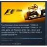 FORMULA F1 2014 STEAM KEY REGION FREE GLOBAL