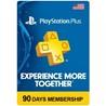 PSN Plus Membership  - 3 Month (90 days) USA