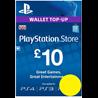 PSN КАРТА ОПЛАТЫ UK £10 GBP для PS4, PS3, PS Vita