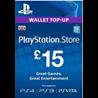 PSN КАРТА ОПЛАТЫ UK £15 GBP для PS4, PS3, PS Vita