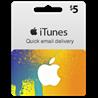Itunes Gift Card $5 USA + Скидки