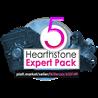 5 Hearthstone Expert Pack (25 карт) + рубашка Galaxy