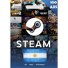 STEAM WALLET GIFT CARD ARS 100 Аргентина