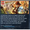 LEGO Indiana Jones 2: The Adventure Continues STEAM KEY