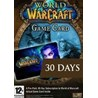 WoW EU/RU EURO/RUS timecard 30 days gametime code