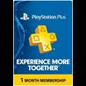 1 месяц PlayStation Plus PS+ Membership USA