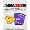 NBA 2K19 25000 Virtual Currency + 5 MyTEAM packs Код