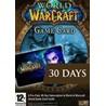 World of Warcraft Карта оплаты EUROPE 30 Days WoW