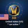 World of Warcraft ??Предоплата за 30 дней, США / НС ??
