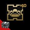 Armored Warfare: Золотой жетон (экипаж) 10шт