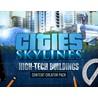 Cities Skylines - Content Creator: High-Tech Buildings